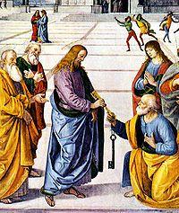 cristo entrega chaves