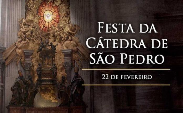 Hoje é celebrada a Festa da Cátedra de São Pedro
