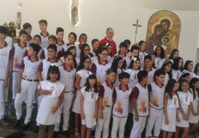 Domingo de Pentecostes- 1ª comunhão