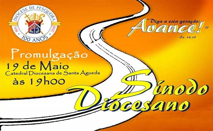1º Sínodo Diocesano será promulgado no dia 19 de maio