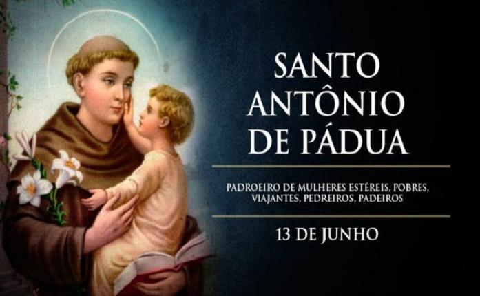 """Hoje é festa de Santo Antônio de Pádua, o """"santo de todo o mundo"""""""