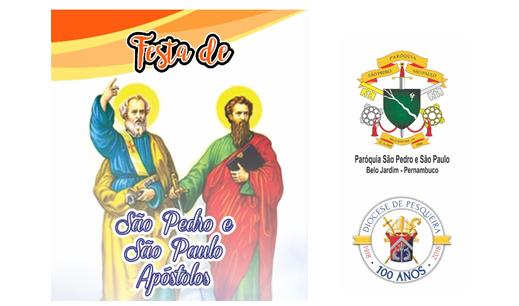 Festa São Pedro e São Paulo Apóstolos 2018