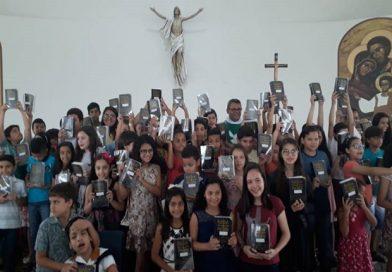 Entrega das Bíblias – Estilo Catecumenal