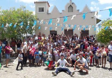 Festividades a Nossa Senhora Aparecida e Dia das Crianças na Comunidade Vila da Barragem