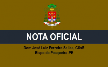 Cortesia: PasCom Diocese de Pesqueira